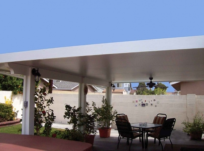 Solid Patio Covers - Soltech Patio Covers