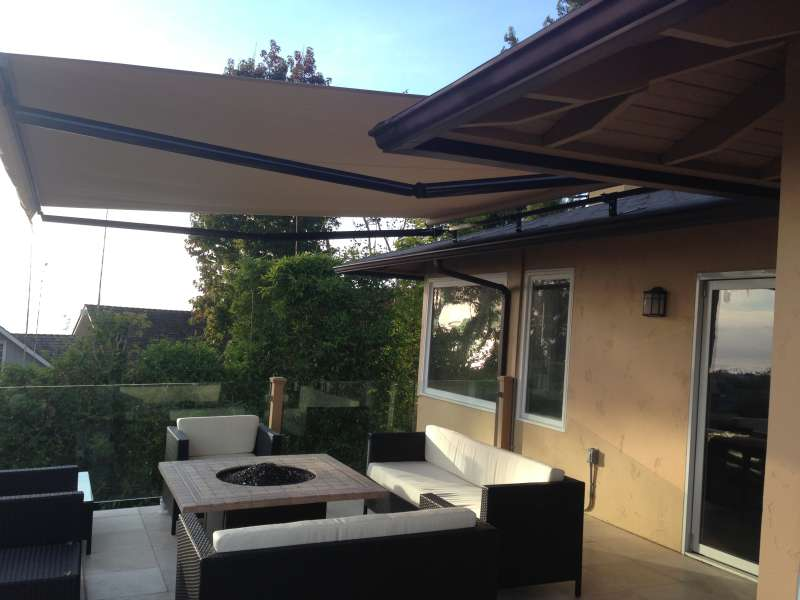 retractable awning san diego01 - Soltech Patio Covers